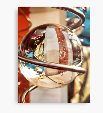 twirly reflections Metal Print