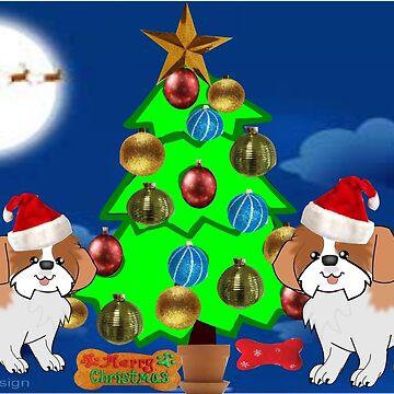 Christmas Pups (2052 Views) by aldona