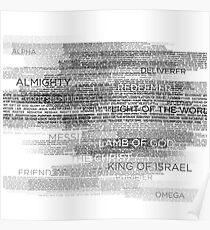 Names of God Poster
