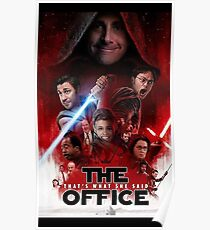 Das Büro - Star Wars Poster