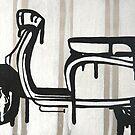 Dali's Melting Scooter by ChristineBetts