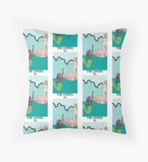 THE LOVERS VI Throw Pillow