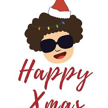 Happy Xmas cool T-shirt | Happy Family Xmas Tee Gift Idea by kidostylebrand