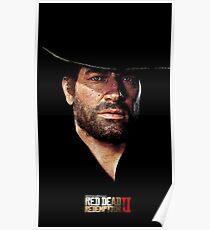 Red Dead Redemption 2 Arthur Morgan Poster