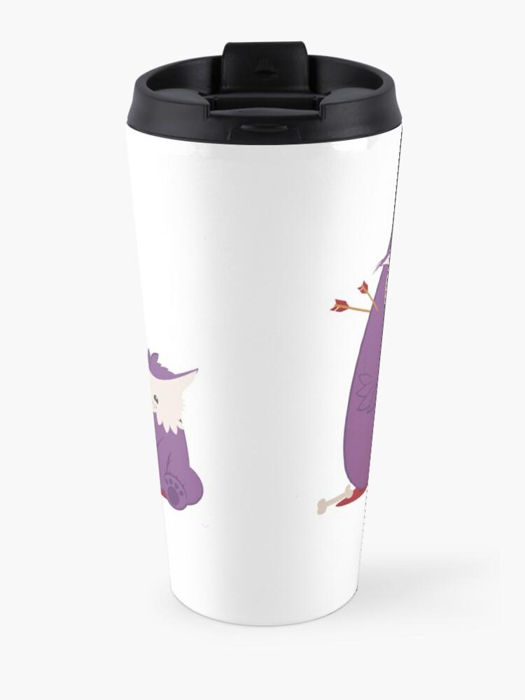 Alternate view of Owlbear Picnic Travel Mug