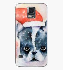 Santa Dog Case/Skin for Samsung Galaxy