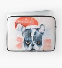 Santa Dog Laptop Sleeve