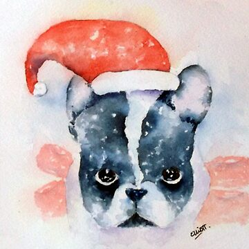 Santa Dog by PatEll