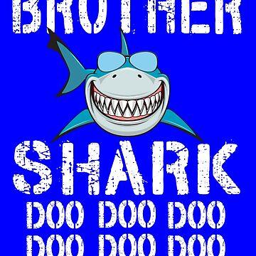 Brother Shark Family Shark Matching Gift by Teeshirtrepub