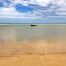 Lone boat by Richard Majlinder
