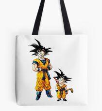 Goku Growing up Tote Bag