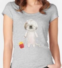 Odie's Eyes Women's Fitted Scoop T-Shirt