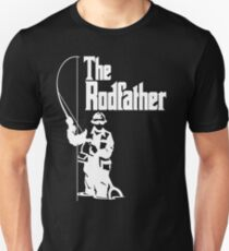 The Rodfather Fishing T Shirt T-Shirt