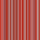 Many colorful stripe pattern in red by pASob-dESIGN