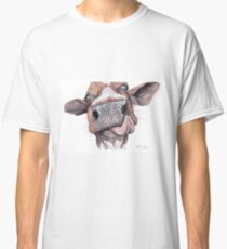Cow Licking Lips Classic T-Shirt
