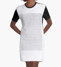 GESAMTE SCHREK 2 SCHRIFT T-Shirt Kleid