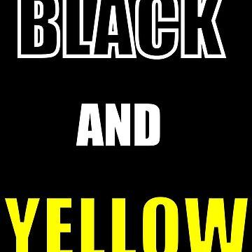 Black and Yellow Wiz Khalifa by bones34