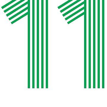 11 SHIRT by 4tomic