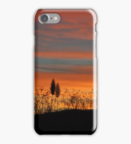 New Zealand sunset iPhone Case/Skin
