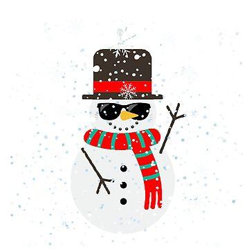 Snowman Sunglasses Snowglasses Snowflake by yoddel