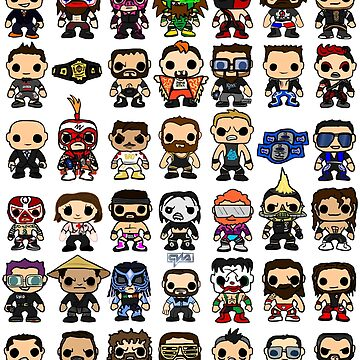 QWA All Year 4 - Pop Vinyl by Chewfactor