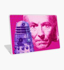 DOCTOR WHO AND THE DALEKS The first Doctor WILLIAM HARTNELL POP ART Laptop Skin