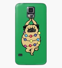 Pug Merry Christmas Case/Skin for Samsung Galaxy