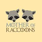 Mother of Raccoons  by jazzydevil
