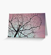 dead treee Greeting Card