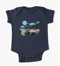 Boats in the harbour III | waterscape photography One Piece - Short Sleeve