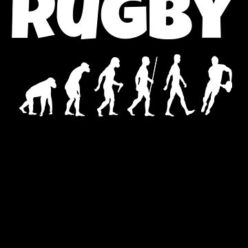 Rugby Love Egg Chasing by MandWthings