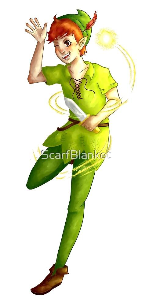 Peter Pan by ScarfBlanket