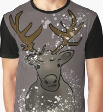 Dimitri the Reindeer Graphic T-Shirt
