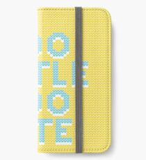 No apologies - Too little too late I. iPhone Wallet/Case/Skin