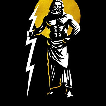 Zeus / Jupiter by DisobeyTees