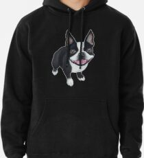 Sudadera con capucha Boston Terrier