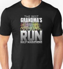 14d6e875 Grandma Half Marathon Running Grandma Design - The Best Grandmas Run Half  Marathons Slim Fit T