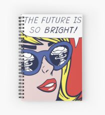 Pop Optimistic Girl Spiral Notebook
