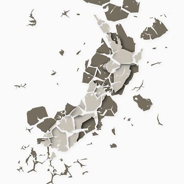 Cracked New Zealand by devoid