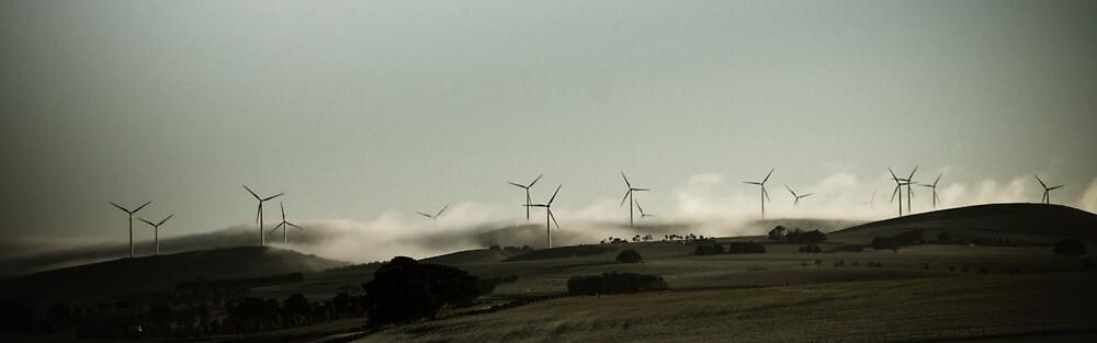 Windfarms outside Ballarat by finirat