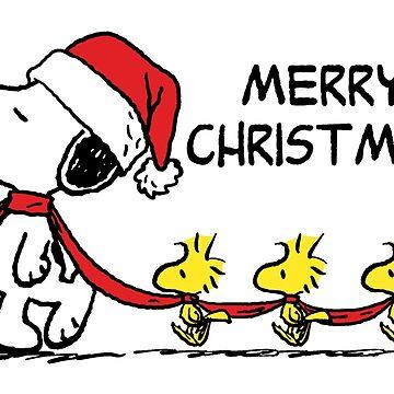 Snoopy: Woodstock Christmas Parade by Pop-Pop-P-Pow