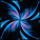 Digitale Blume von Beatrice Beute