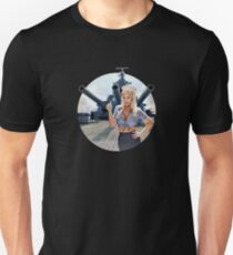 Pin-up Navy WWII Vintage Unisex T-Shirt