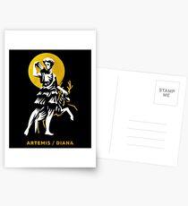 Artemis / Diana Postkarten
