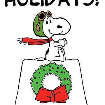 Snoopy: Happy Holidays! by Pop-Pop-P-Pow