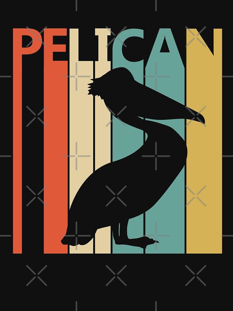 Weinlese Retro Pelikan von polveri