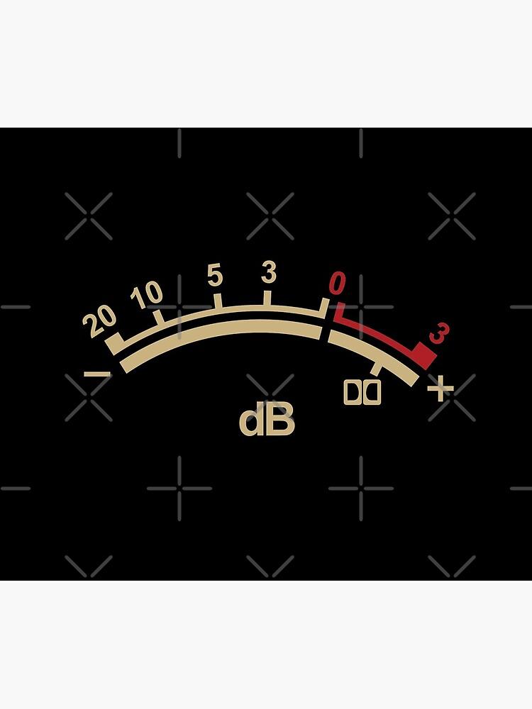 Retro dB de petrol-blue