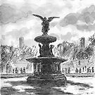 Bethesda Fountain, Central Park by Barnaby Edwards