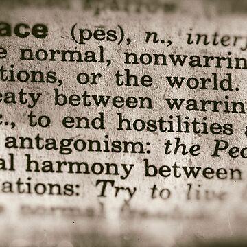 Forgotten Meanings - Peace by JoeGeraci