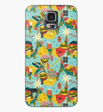 Christmas in the sloth's jungle Case/Skin for Samsung Galaxy